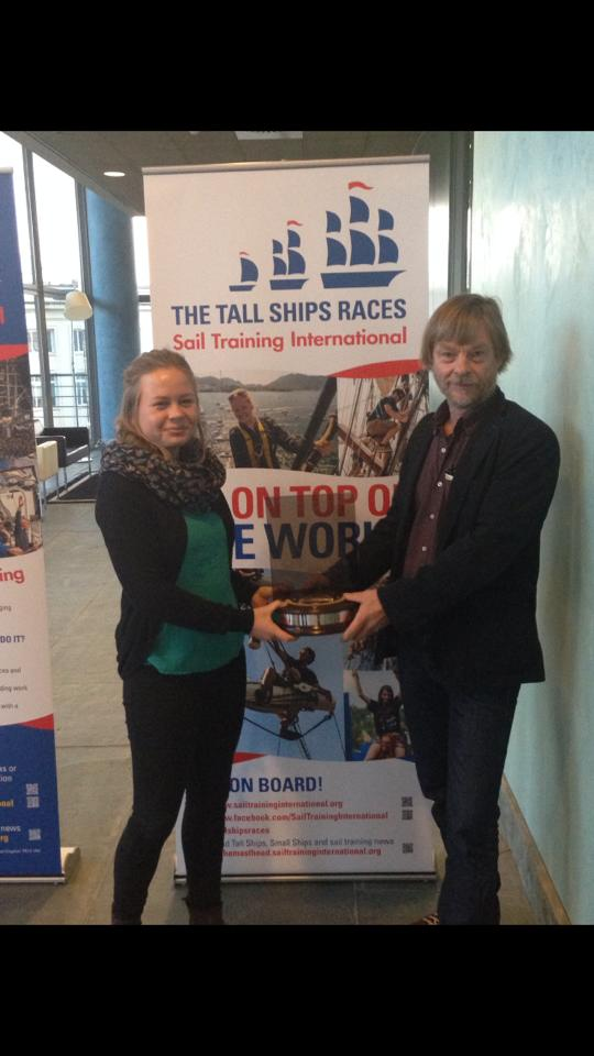 sail training ot the year